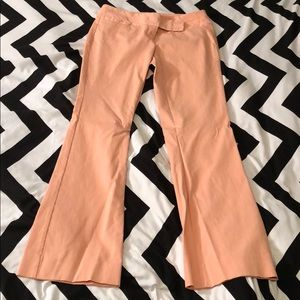 The Limited Exact Stretch Bootcut Pants Peach